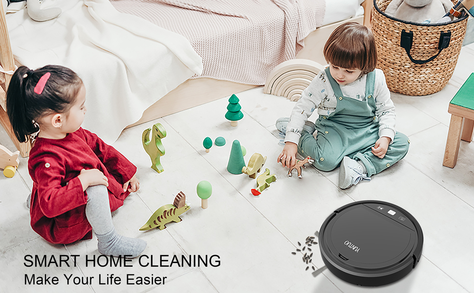 smart home cleaning