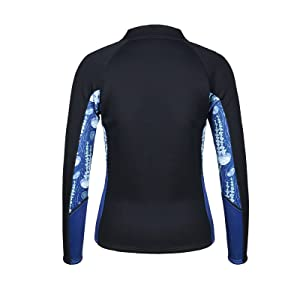 fitness suit suana suit neoprene suit jacket wetsuit women tops rash guard bathing suit women lady