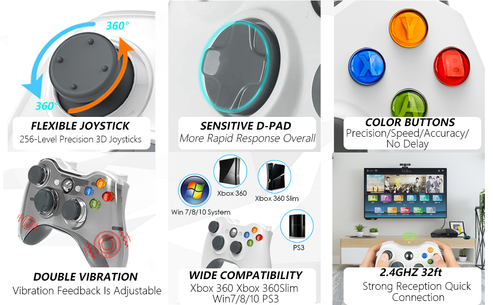 xbox 360 wireless controller charger