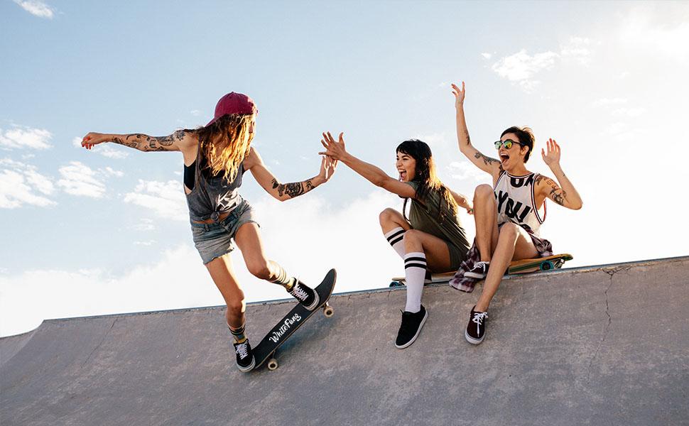 Disfruta del skate con tus amigos