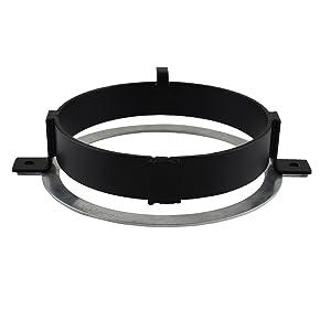 VTX 1300 Akmties VTX 5.75 inch Headlight Kit Bracket and Hardware Compatible with Honda VTX 2002-2008 VTX 1800