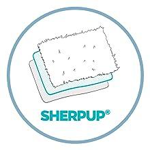 Sherpa pee resistant dog blanket