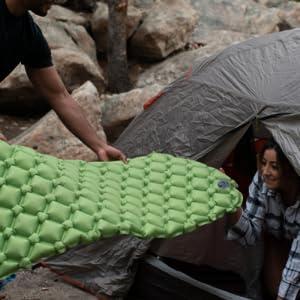 sleeping pads for backpacking sleeping pad sleeping pads