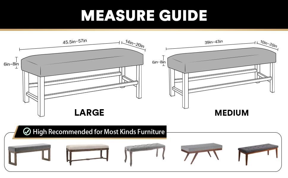 sofa cover measure guide