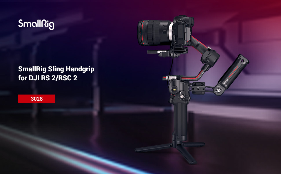 SmallRig Sling Handgrip for DJI RS 2 and RSC 2 Gimbal Briefcase Handle 3161