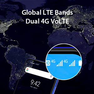 Global LTE Bands Dual 4G VoLTE