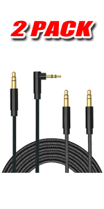 right angle audio cable