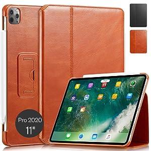 "KAVAJ iPad Pro 11"" 2020 case Berlin cognac"