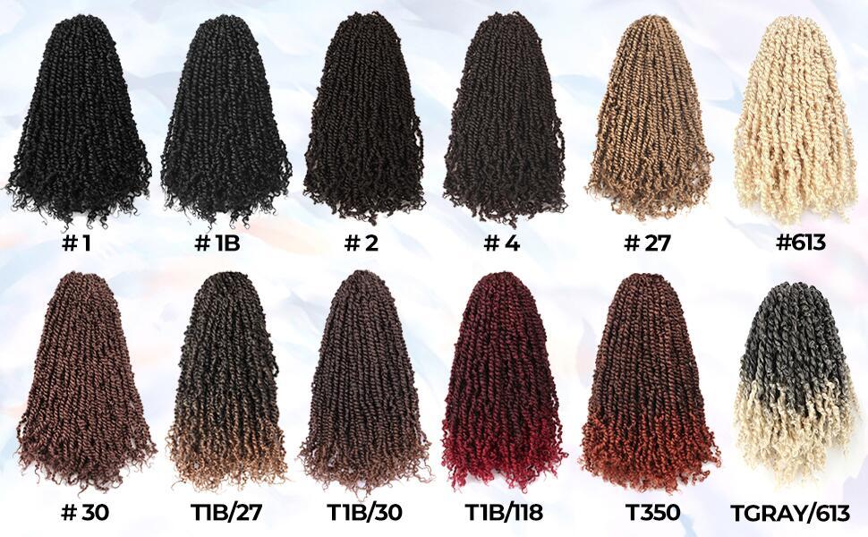 tiana passion twist hair