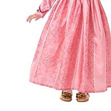 sleepoing beauty rapunzel renassaince fair pink princess dress costume disney