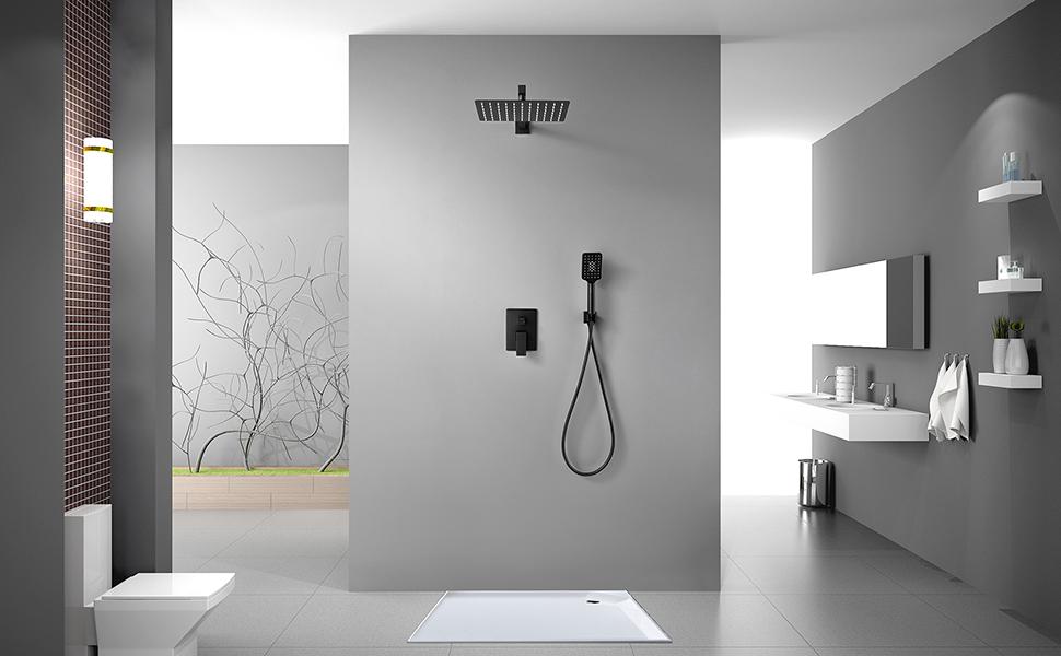 conceal shower system