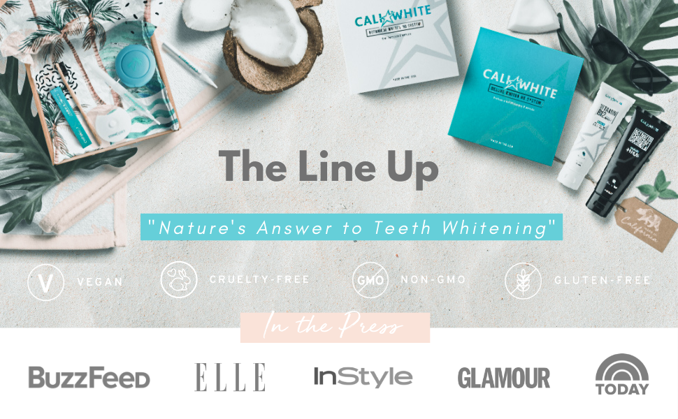 cali white teeth whitening kits and teeth whitening pens and teeth whitening toothpaste