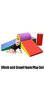 Climb and Crawl Foam Play Set