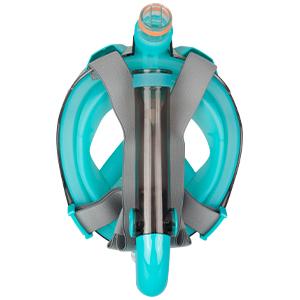 foldable snorkel mask