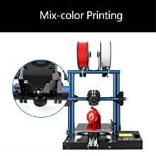 mix-color printing