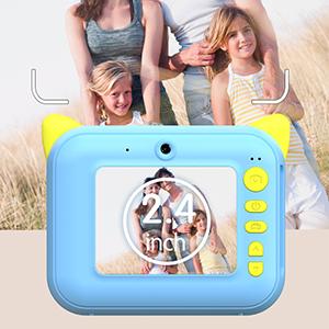Kids Print Instant Camera