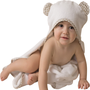 toddler towel with hood