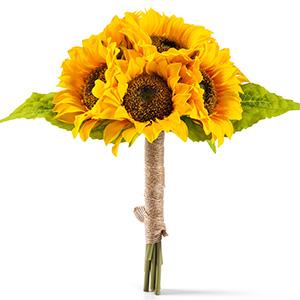 artificial sunflowers