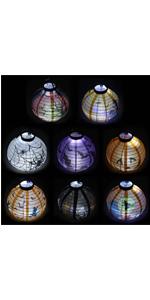 Paper Lanterns with LED Light