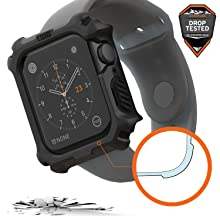 URBAN ARMOR GEAR UAG APPLE WATCH CASE 44MM BLACK, RUGGED, TOUGH, IMPACT, MILITARY DROP TESTED