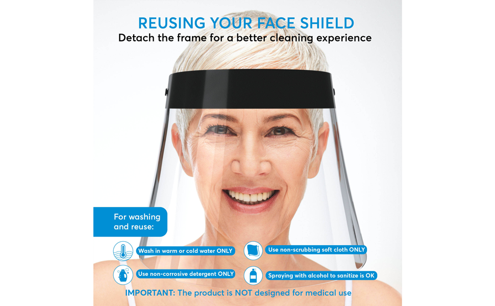 anti fog face shield