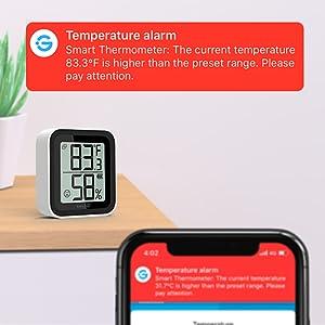 govee bluetooth temperature humidity sensor