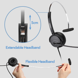 Flexible Adjustable Headband