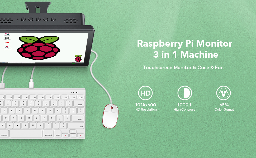 raspberry pi case with screen