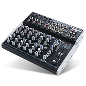 TRITON-A12BD Pro 12-Channel Passive Audio Mixer with Bluetooth, USB Flash Drive Input and DSP