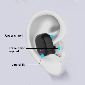 Wireless Earbuds Comfortable Secure Fit
