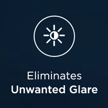 eliminates glare - wearme pro