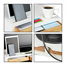 meuble bureau deux tiroirs