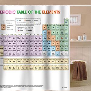 periodic shower curtain