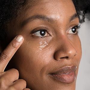 use eye gel morning and night