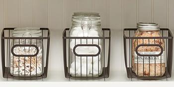 metal wire baskets plastic sturdy women shower medicine cabinet cupboard shelves hidden holder
