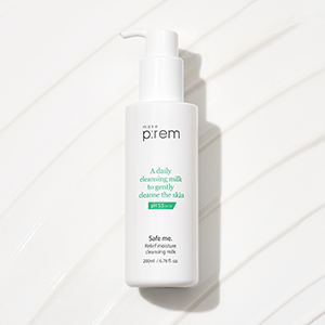 Safe me. Relief moisture cleansing milk_3