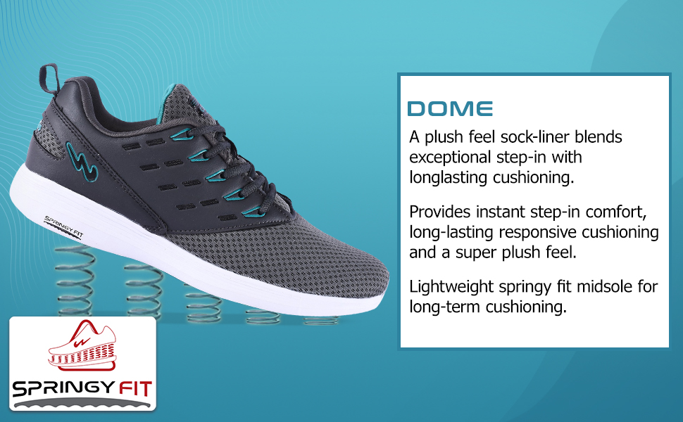 DOME A Plush Feel Sock-liner Blends Exceptional step