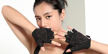 anti-slip pad gloves for sport