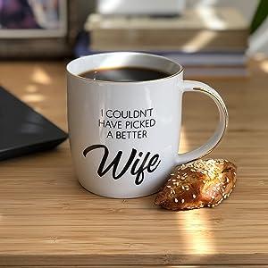 best wife ever coffee mug, wife mug, wife mugs, great birthday, gifts for wife