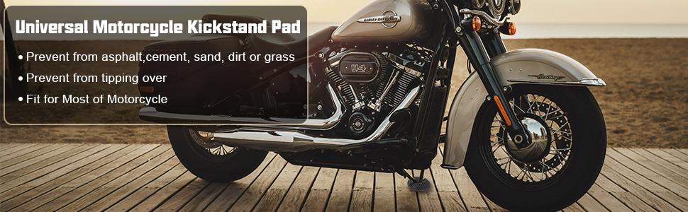 YZLSM Kickstand Pad Disco Moto Piastra Parcheggio Supporto Per Harley Davidson Blu Coaster Planes Bambini Car Phone