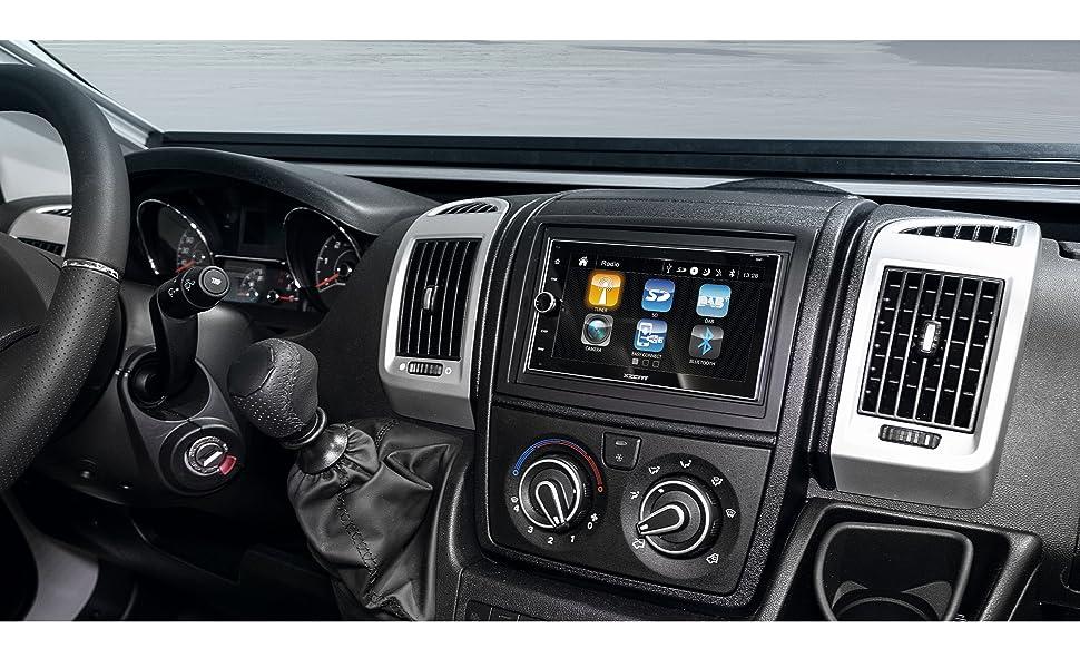 Xzent X 422 Double Din Naviceiver With Dab Usb Bt Hdmi Navigation Car Hifi