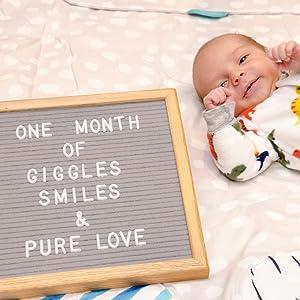 baby milestones felt like sharing felt letter boards with letters