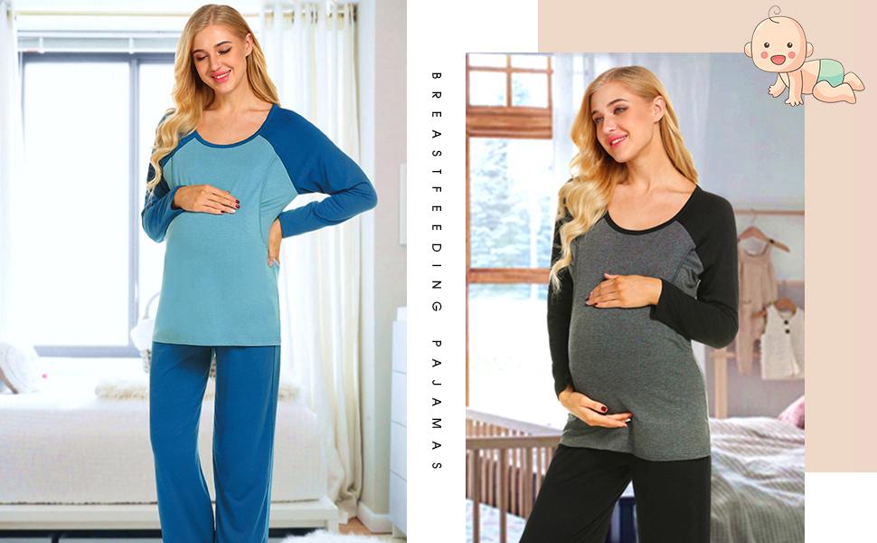 maternity nursing pjs