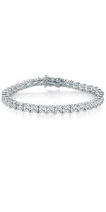 bracelet for women,tennis bracelet,round cut bracelet,cubic zirconia bracelet ,cz tennis bracelet