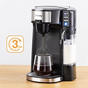 coffee maker for cappuccino coffee maker with milk frother keurig single cup coffee machine