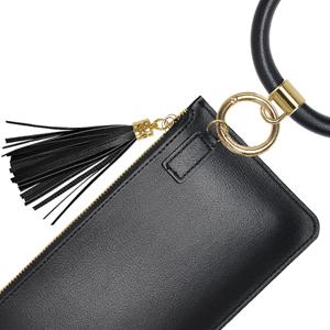 YUOROS keychain key ring bracelet wallet wristlet for women