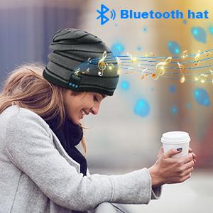 beanie bluetooth hat for men