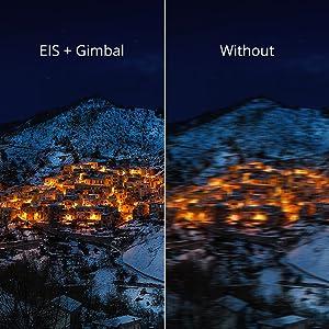 2 Axis- Gimbal x EIS stabilization