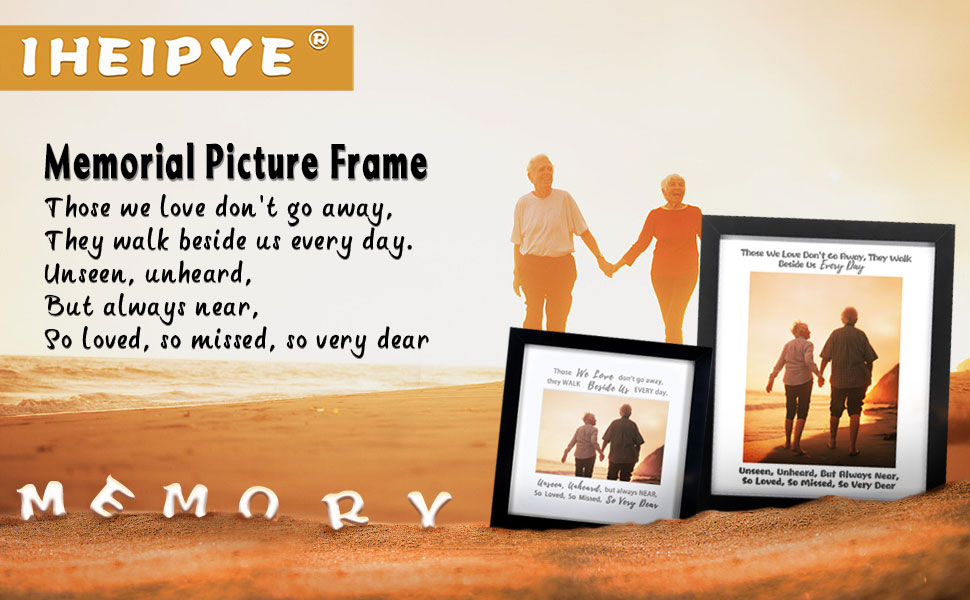 memorial frame dad mom grandma grandpa mother father bereavement remembrance sympathy photo frame