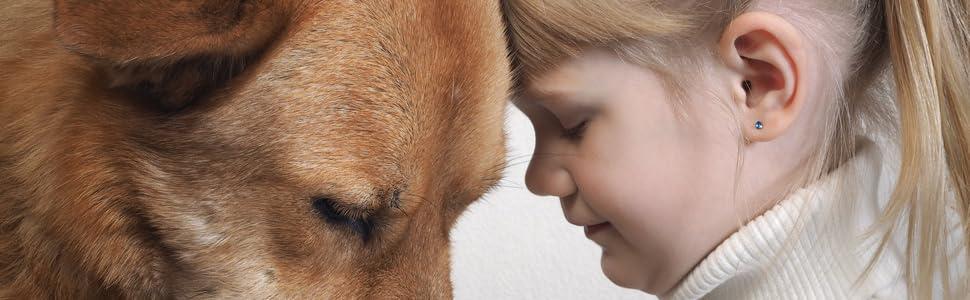 Sicherheit, Familie, Hund, Kind
